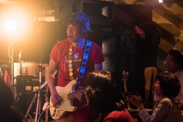 Yoshimitsu Kasuga's 60th birthday live at Manda-La 2, Tokyo, 03 Apr 2017 -00276
