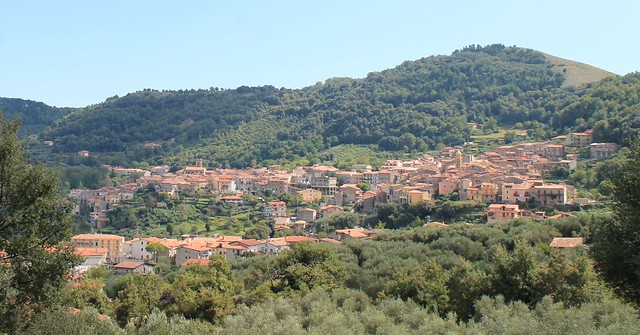 Panorama di San Giovanni a Piro (SA)