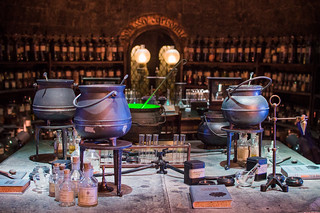 Warner Bros Studio London Harry Potter Potions Dungeon | by jessica_pei