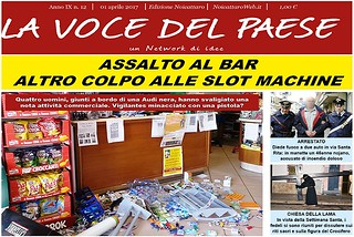 Noicattaro. Prima pagina n. 12-2017 front