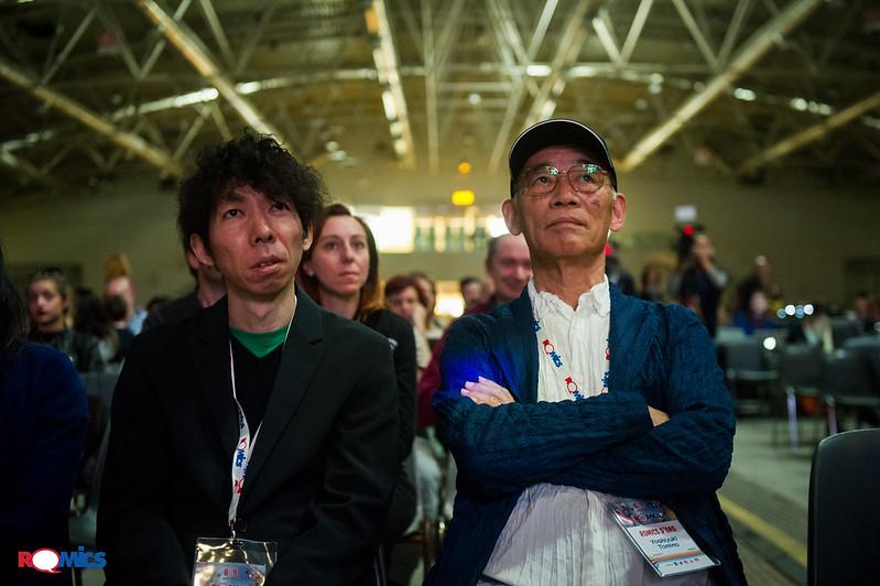Naohiro Ogata, Special guest a Romics!