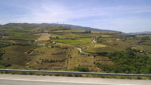 On road to Amarante, Portugal