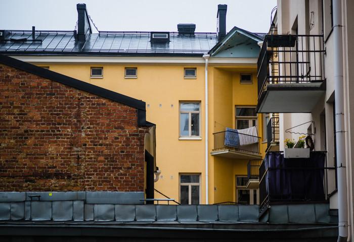 Helsingin talot asunnot Punavuori kerrostalo urbaani