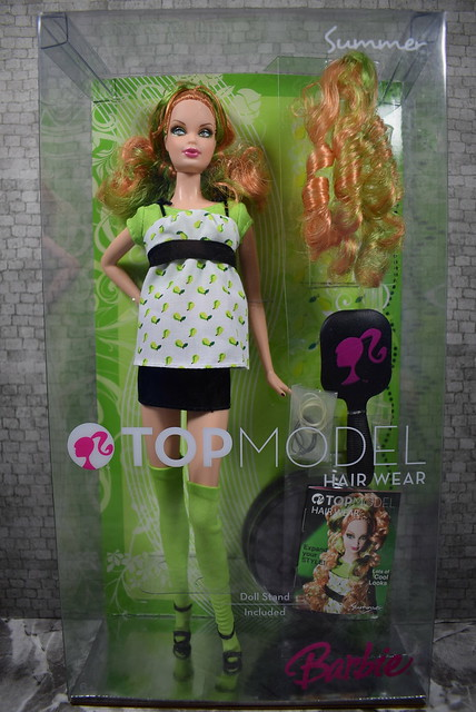 2007 Barbie Top Model Hair Wear Summer M5796 (2)