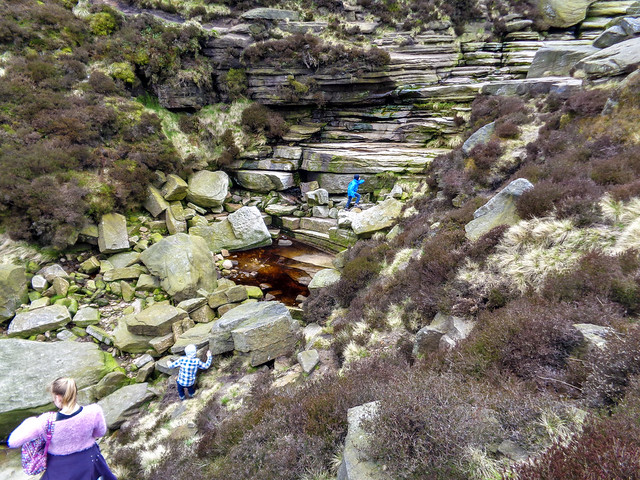 Some bonus scrambling at the top of Grindsbrook