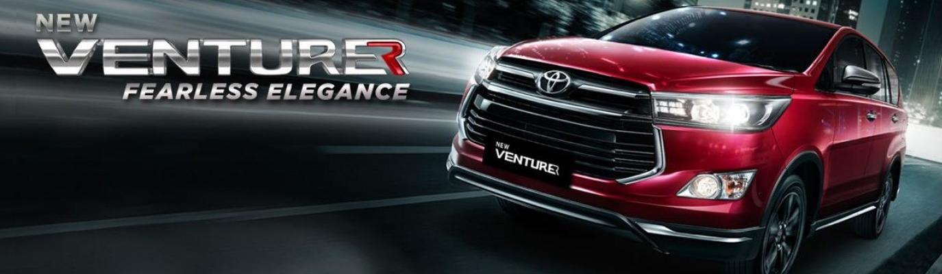 Mobil Toyota New Kijang Innova Venturer di Jakarta