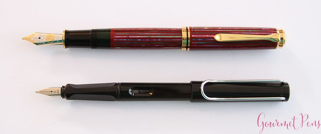 Review Pelikan Souverän M1000 Sunrise LE Fountain Pen @Pelikan_Company @vulpennen 5