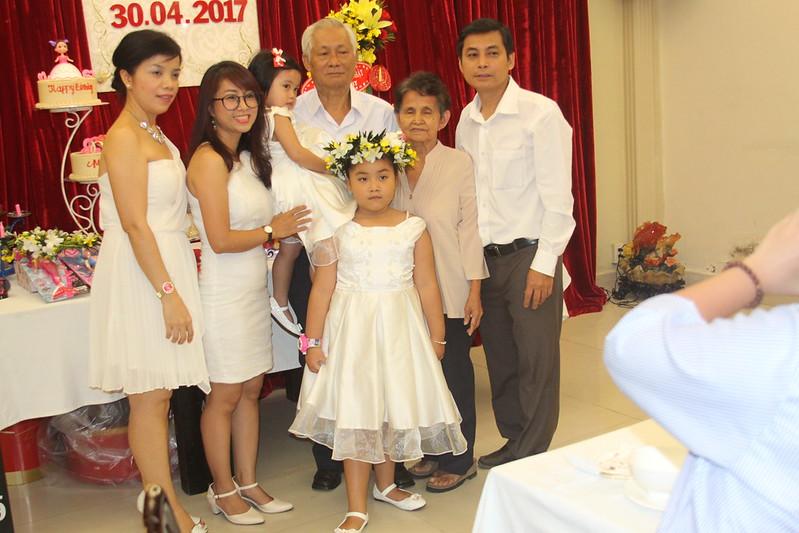 Tiệc sinh nhật bé Minh Thy 30/04/2017