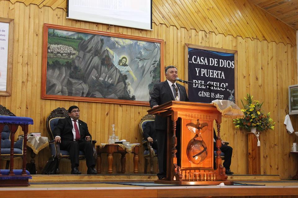 Iglesia de Tomé recibe visita de Chillán Viejo