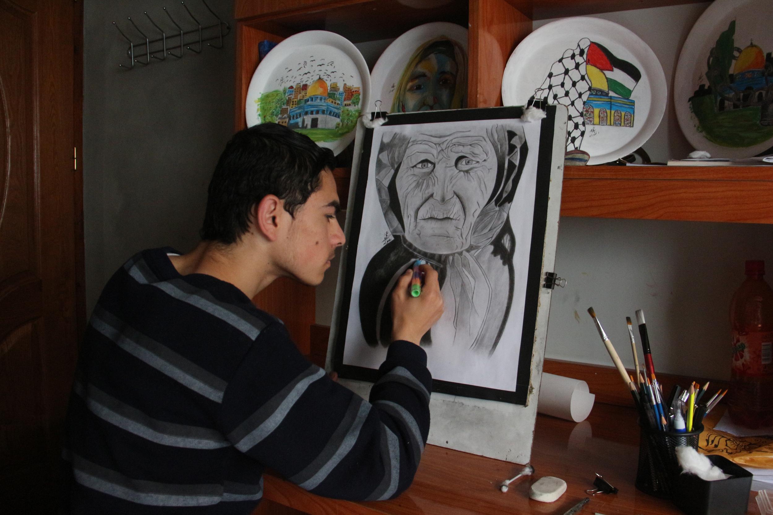 عمر رضوان غزة  (3)