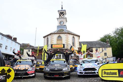 MSA British Rally Championship, Carlisle 2017