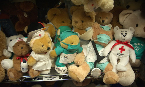 Medical Unit, Teddy Bear Town, Hill City, South Dakota