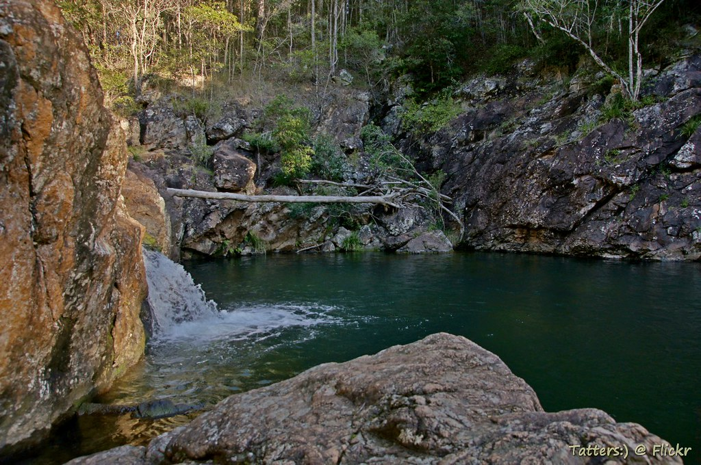 Rocky Hole in Mount Mee forest, D'Aguilar National Park ...