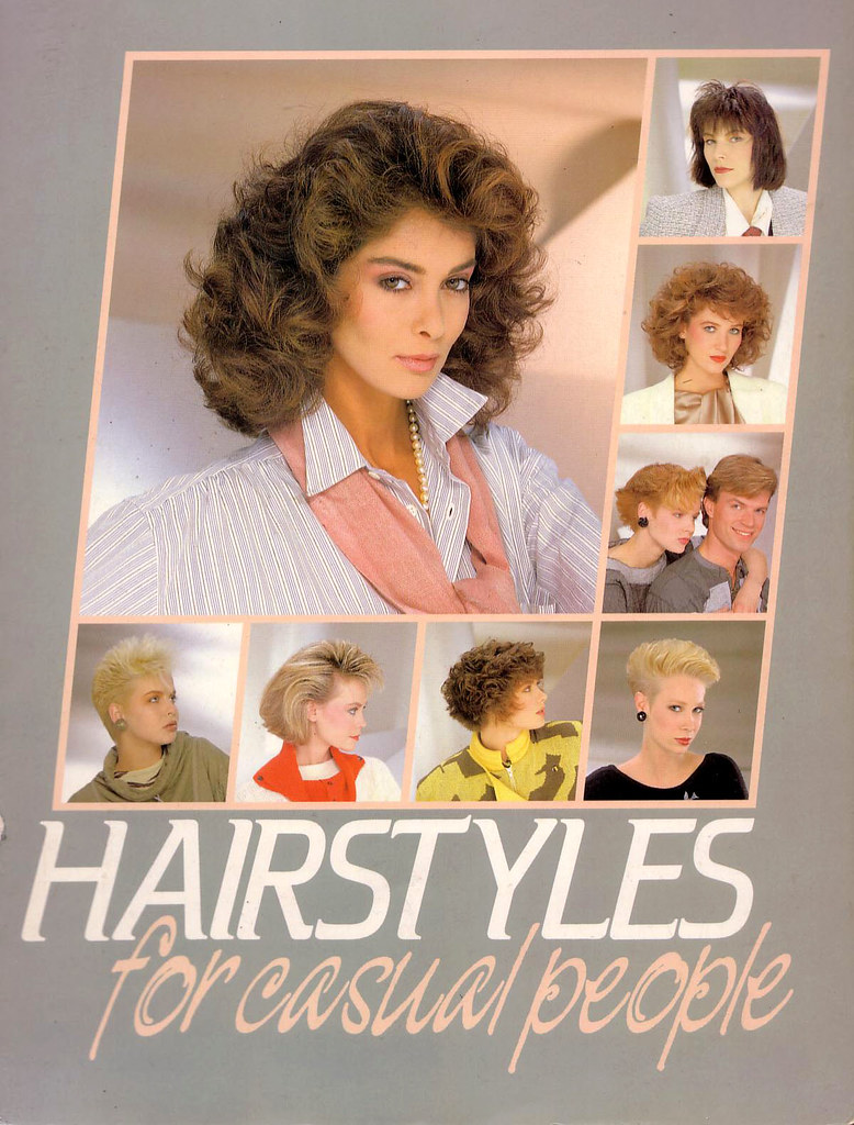 Hairstyles For Casual People 198485 Flickr