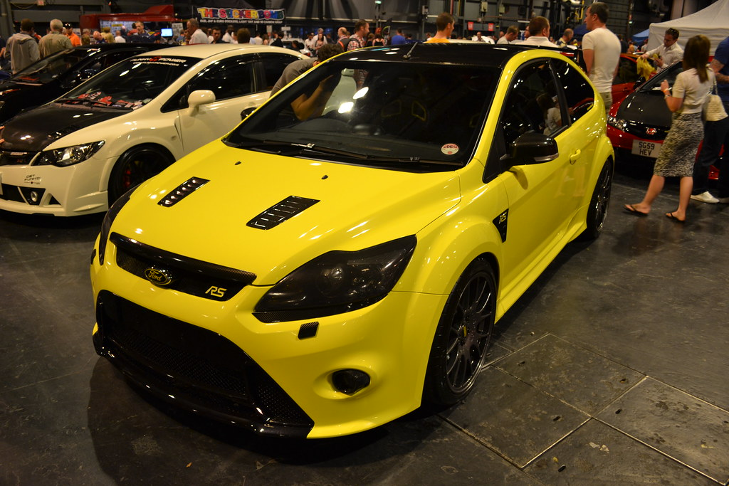 Ford Focus Rs Yellow Jambox998 Flickr