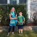 Dinah and Evan ready for the first day of school