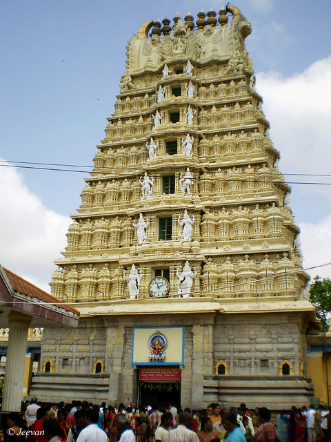 Chamundeshwari Temple, Mysore | Flickr - Photo Sharing!