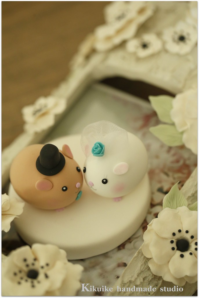 Lovely guinea pigs Wedding Cake Topper | www.etsy.com/listin… | Flickr