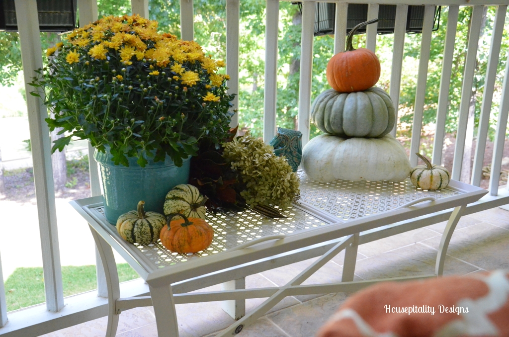 Housepitality Designs: 2013 Fall Upper Porch Housepitality Designs