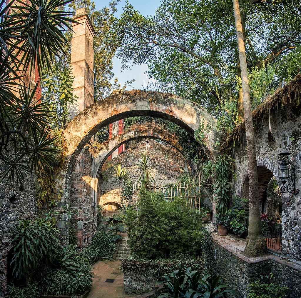 Interior de la Hacienda de Cortés