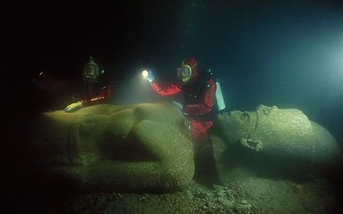 Heracleion: The submerged city!