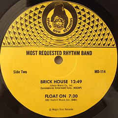 MOST REQUESTED RHYTHM BAND:GOT TO GIVE IT UP(LABEL SIDE-B)