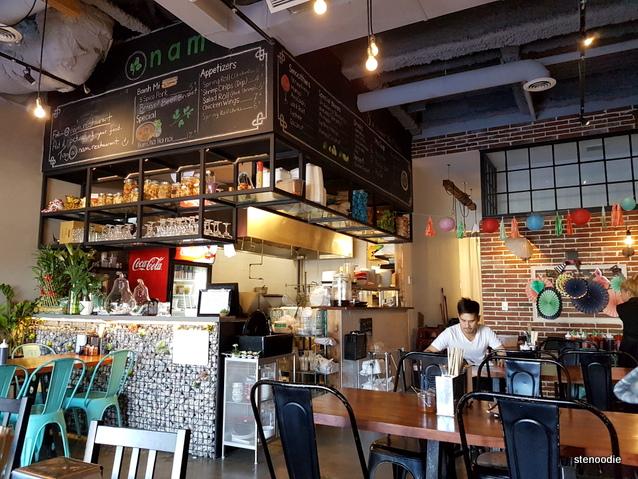 Nam vietnamese restaurant stenoodie