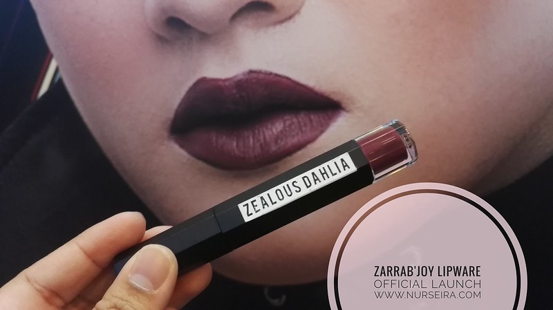 Matte Lipstick ZarraB'Joy Cosmetic
