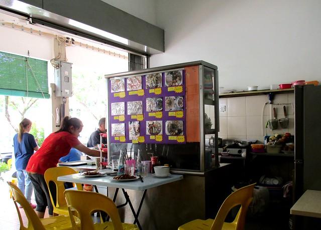 Market Cafe kampau mee stall