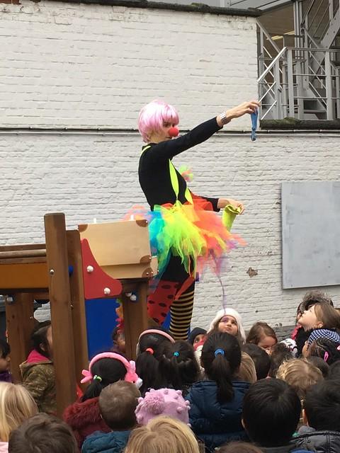 Carnaval in de kleuterschool