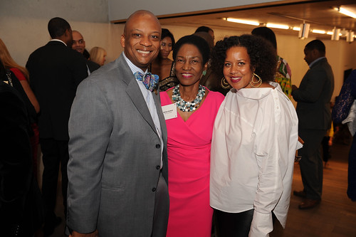 Oliver Gilbert, Marilyn Holifield, & Jessica Sirmans at Fourth Annual Reception for the PAMM Fund for African American Art