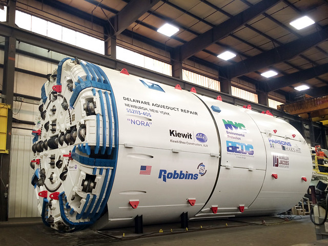 "Tunnel boring machine ""Nora"""