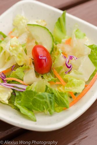 Complementary Salad, Ikko Sushi