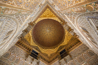 The dome of the Salón de Embajadores at the Alcazar of Seville, Spain | by Tim van Woensel