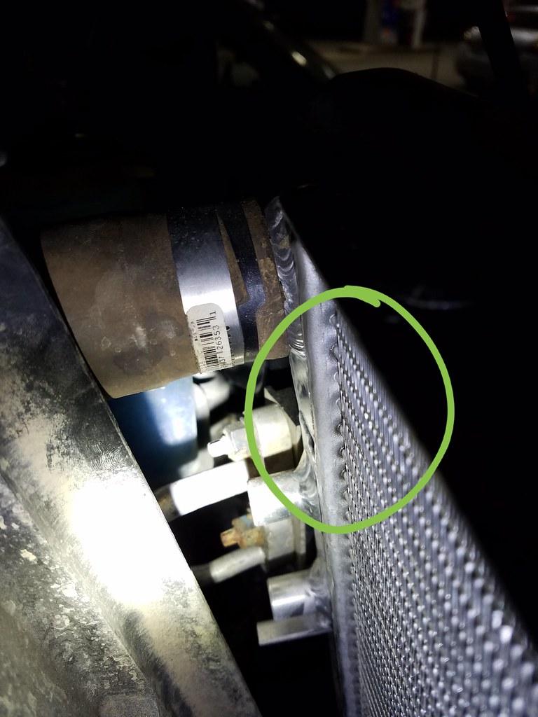 Mishimoto radiator leaking - JKowners.com : Jeep Wrangler ...