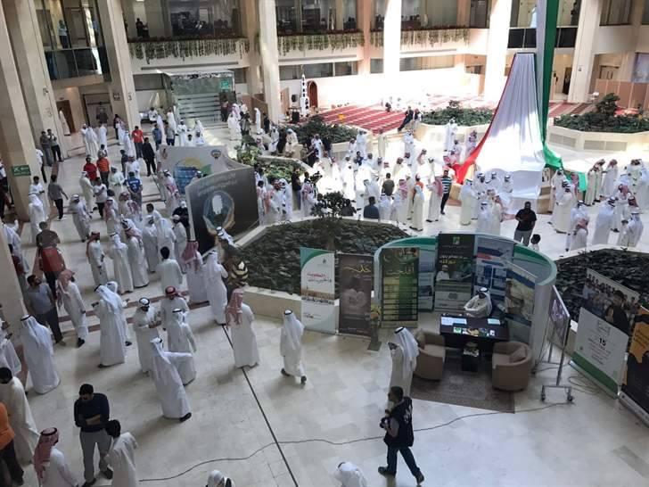 اعتصام الماء والكهرباء الكويت  (12)