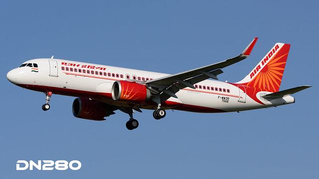 Air India A320-251N msn 7568