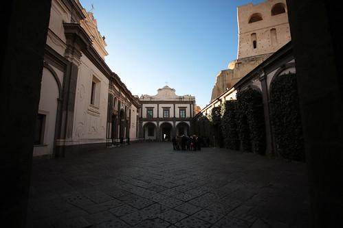 Certosa di San Martino: Cortile