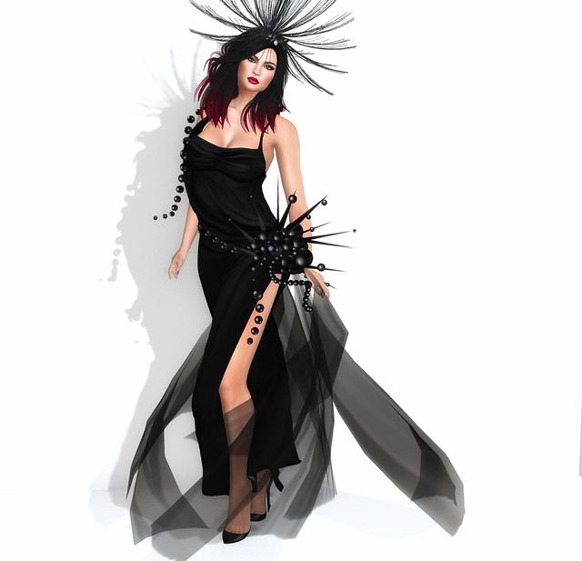 Azul gown -  Aria @ Black Fair
