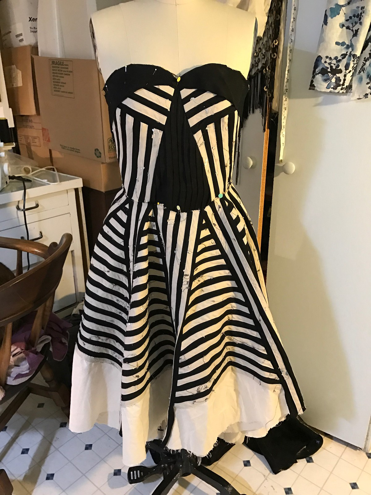 MFC dress 2017 progress