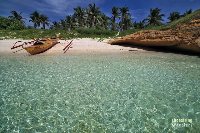 crystalline waters at Tinalisayan