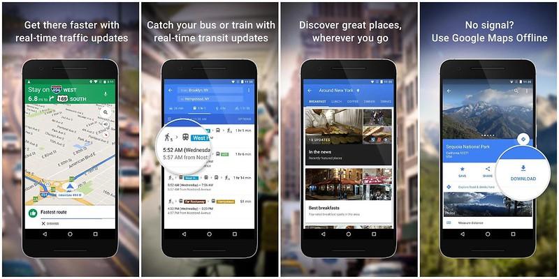 GoogleMaps-app
