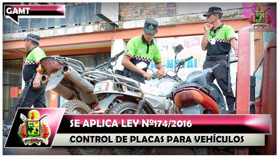 se-aplica-ley-n-174-2016-control-de-placas-para-vehiculos