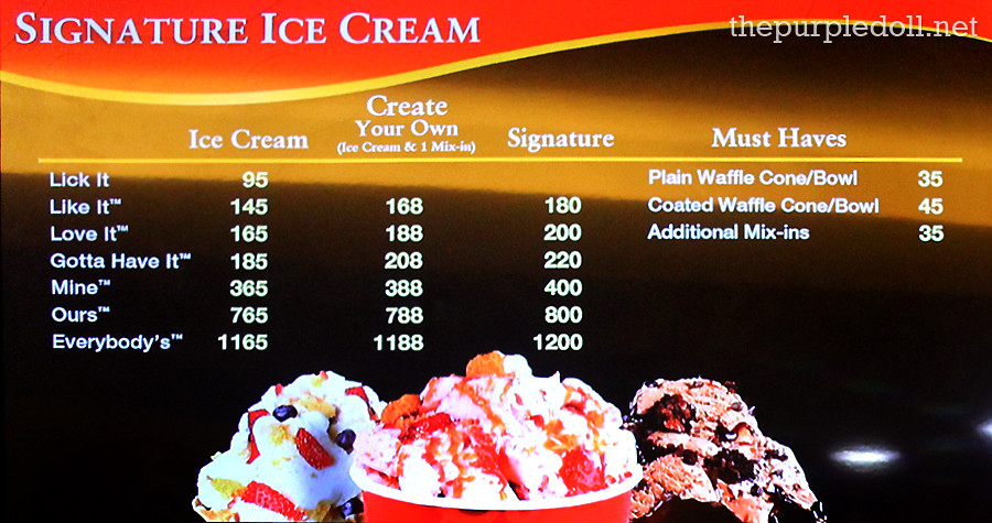 Cold stone creamery signature ice cream menu purpledoll flickr cold stone creamery signature ice cream menu by purpledoll ccuart Image collections