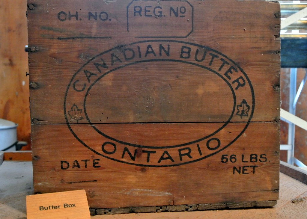 Canadian Butter Ontario Box | Butter Box | RichardBH | Flickr