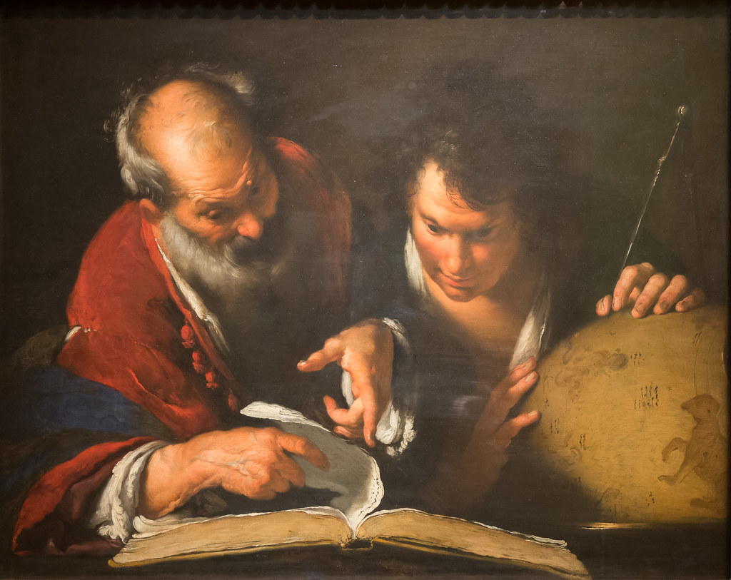 Quot Eratosthenes Teaching In Alexandria Quot By Bernardo Strozzi