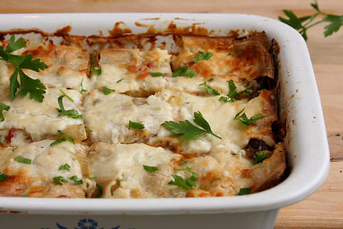 swiss chard lasagna 4 | by crumblycookie