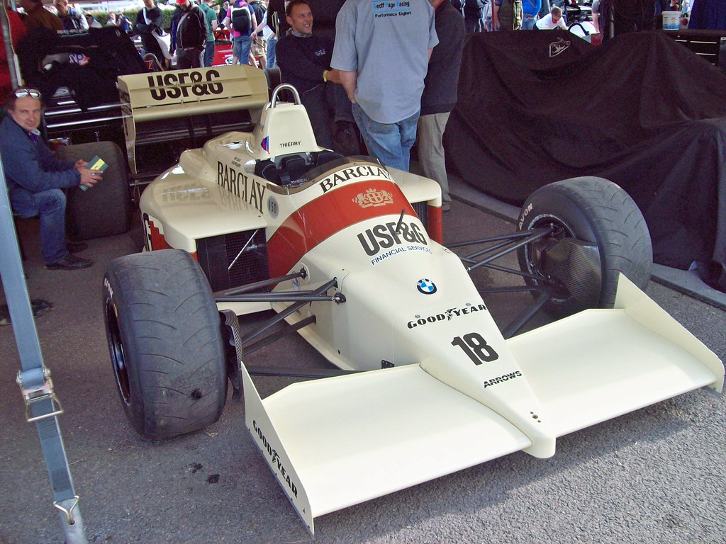 37 Arrows BMW A9 1986