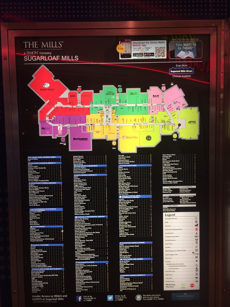 Sugarloaf Mills Lawrenceville Atlanta Georgia Mall Flickr - Georgia mall map