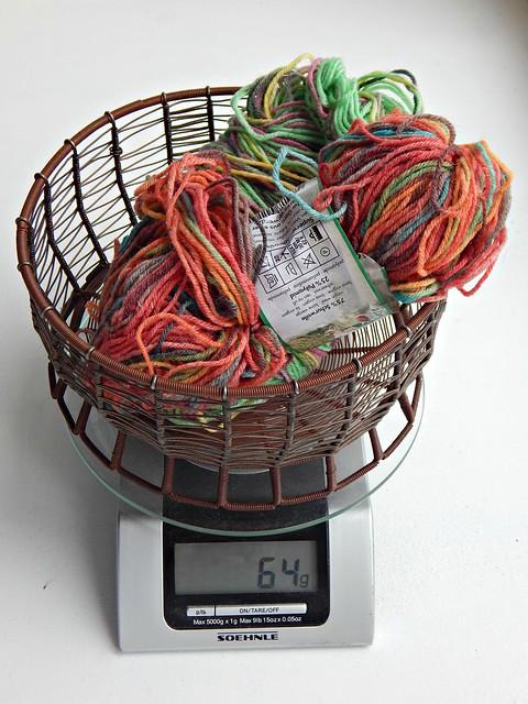 красная пряжа | red yarn
